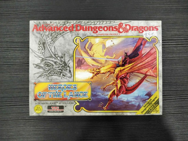 AD&D HEROES OF THE LANCE [AMSTRAD] - USED