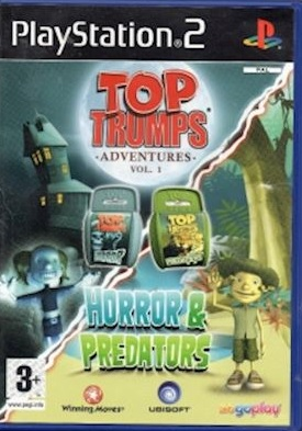 TOP TRUMPS: HORROR & PREDATORS [PS2] - USED