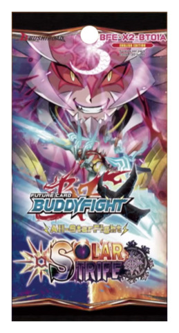 FUTURE CARD BUDDYFIGHT - SOLAR STRIFE - X2 BOOSTER PACK