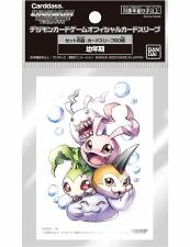 DIGIMON TCG: OFFICIAL CARD SLEEVES (60CT) - IN-TRAINING