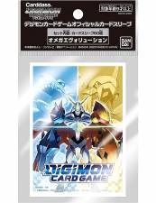 DIGIMON TCG: OFFICIAL CARD SLEEVES (60CT) - OMNIMON
