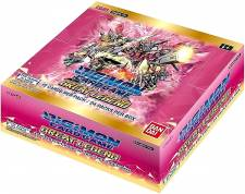 DIGIMON CARD GAME - GREAT LEGEND BOOSTER DISPLAY BT04 (24 PACKS) - EN   [Pre-Order]