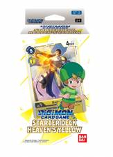DIGIMON CARD GAME - STARTER DECK DISPLAY HEAVEN'S YELLOW ST-3 - EN [Pre-Order]