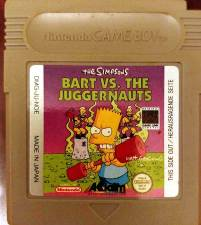 BART VS THE JUGGERNAUTS [GB] - USED