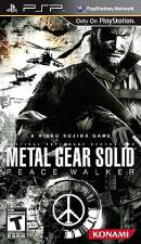 METAL GEAR SOLID: PEACE WALKER [PSP] - USED