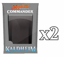 MAGIC THE GATHERING - KALDHEIM COMMANDER DECK SET (SET OF 2) - [Pre-Order]