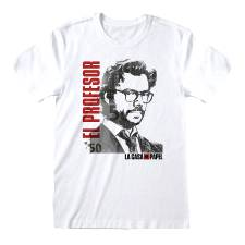 MONEY HEIST T-SHIRT EL PROFESOR (L)