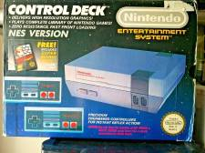 NINTENDO CONTROL DECK NES CONSOLE - USED
