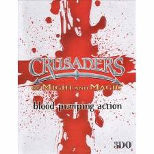 CRUSADERS OF MIGHT & MAGIC (BLOOD CROSS EDITION) [PC] - (NEW SEALED)