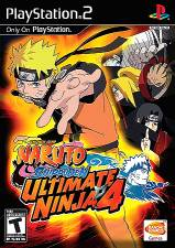 NARUTO SHIPPUDEN ULTIMATE NINJA 4 [PS2]
