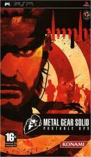 METAL GEAR SOLID PORTABLE OPS - [PSP] - USED