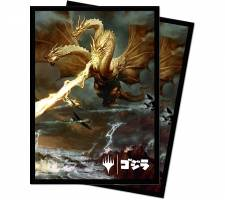 ULTRA PRO SLEEVES: IKORIA - GHIDORAH, KING OF THE COSMOS (100 PIECES)