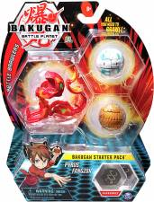 BAKUGAN STARTER 3 PACK MIX