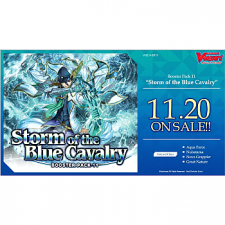 CARDFIGHT!! VANGUARD - BOOSTER DISPLAY: STORM OF THE BLUE CAVALRY (16 PACKS) - EN [Pre-Order]