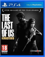 THE LAST OF US: REMASTERED [PS4] - USED
