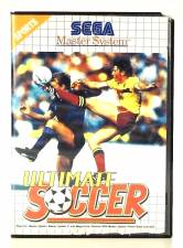 ULTIMATE SOCCER  [MASTER SYSTEM]  - USED