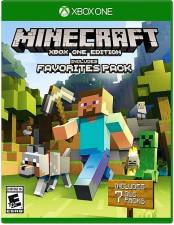 MINECRAFT XBOX ONE EDITION - INCLUDES FAVORITES PACK [XBONE]