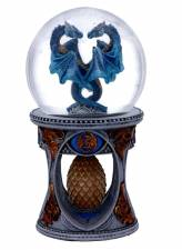 ANNE STOKE DRAGON HEART SNOWGLOBE