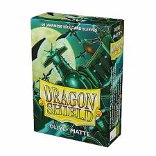 DRAGON SHIELD MATTE JAPANESE SLEEVES - OLIVE (60 SLEEVES)