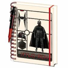 PYRAMID A5 WIRO NOTEBOOK AND PEN - STAR WARS: THE RISE OF SKYWALKER (KYLO REN)