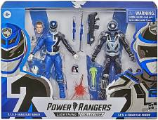 POWER RANGERS LIGHTNING COLLECTION IN SPACE SPD BLUE RANGER A AND B 15CM
